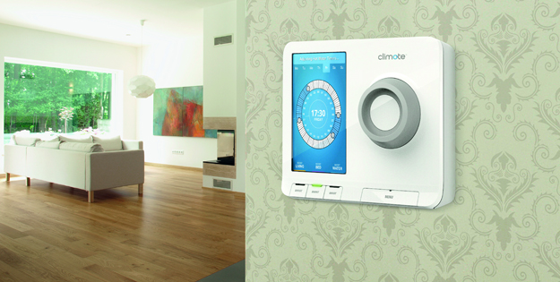 Control central heating easily at home- climote Ireland | Climote